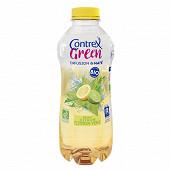Contrex Green bio eau aromatisée Maté citron/citron vert 75cl