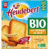 Heudebert les biscottes bio nature germe de blé 300g