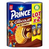 Lu prince chocolat 2x300g 600g