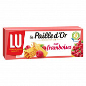 Paille d'or framboise 170g