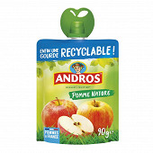 Andros gourdes pomme nature 4x90g