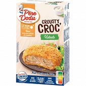 Père dodu crosty croc' kébab 2 x 100 g