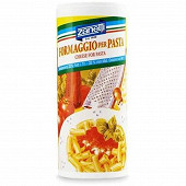 Zanetti fromaggio per pasta fromage râpé séché saupoudreur 80 g