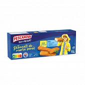 Pescanova bâtonnets de merlus panés msc 400g