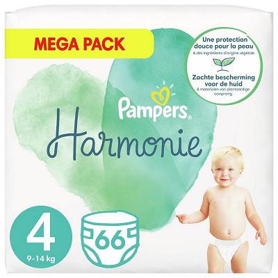 Pampers Pampers harmonie langes mega 66ct