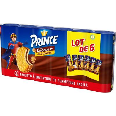 LU Prince chocolat lot x6 1.8kg