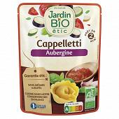 Jardin bio cappelletti aubergine bio sachet individuel 250g