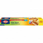 Albal film 2en1 20m + 25% offert