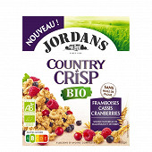 Jordans country crisp bio cranberries cassis&framboises 400g