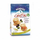Crustini monviso bruschettine aux olives 120g