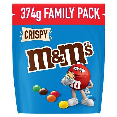M&M's M&M's Crispy bonbon chocolat 374g