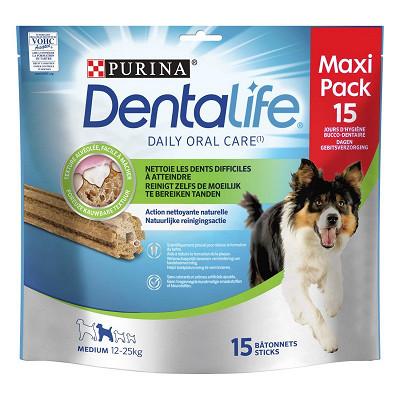 Purina One Dentalife médium maxi pack 345g