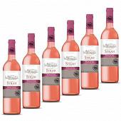 L'âme du terroir vin de pays OC syrah rosé 6x75cl 12.5% Vol.