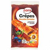 Cora Kido 8 crêpes fourées chocolat céréales 256g
