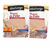 Madrange mousse de foie 2x180g