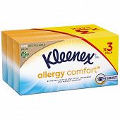 Kleenex boites allergy confort 3x56