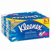 Kleenex mouchoirs boite original  3+1