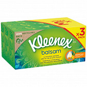 Kleenex mouchoirs boite balsam 72x3