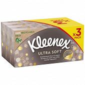 Kleenex mouchoirs boite ultra soft 72 x3