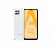 """Samsung Smartphone 6.6"""" GALAXY A22 5G BLANC"""