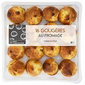 16 gougères gratinée aux fromages 175g