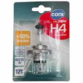Cora lampe halogène H4 64193SVS-01B