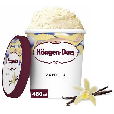 Häagen-Dazs Haagen dazs vanilla pot 460ML/400G