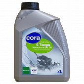 Cora huile moteur motoculture 4T SAE 30  2 litres
