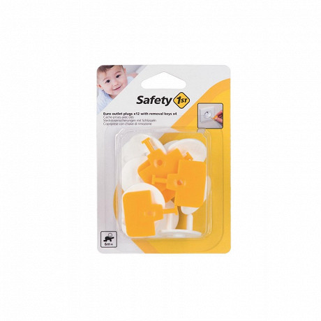 Cache prise avec clés x12 Safety 1st
