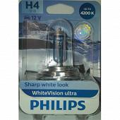 Philips lampe white vision ultra H4 12V 60/55W