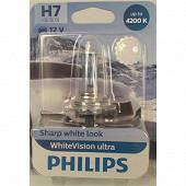 Philips lampe white vision ultra H7 12V 55W