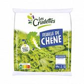 Les Crudettes salade feuilles de chêne sachet 125g