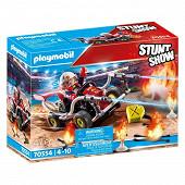 70554 Stuntshow Véhicule et pompier