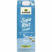 Alnatura boisson au soja et au riz non sucrée 1l