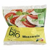 Nature bio mozzarella bio 125g