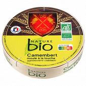 Nature bio camembert moulé à la louche 250g 22%mg