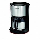 Moulinex cafetière isotherme subito 12 tasses noir/inox FT360811