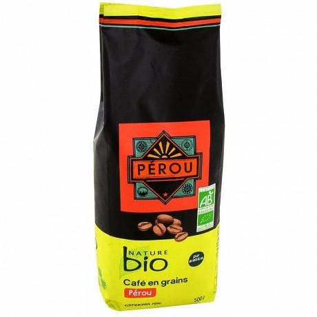 Nature bio café en grains bio 500g