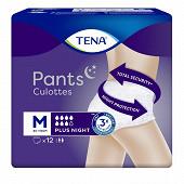 Tena culottes incontinence plus night médium X12