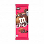 M&m's cookie tablette 165g