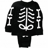 Pyjama squelette NOIR 12A