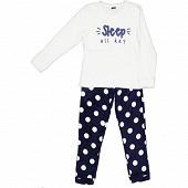 Pyjama coral fleece femme MARINE 38\40