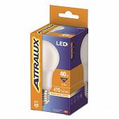 Attralux LED Standard 40W E27 Dépolie Blanc Chaud Boite de 1