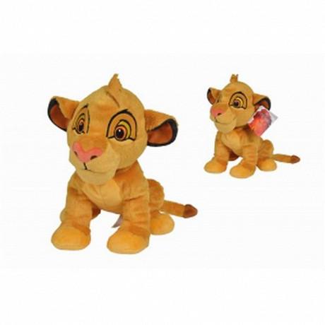 1 Peluche roi lion Simba 25cm
