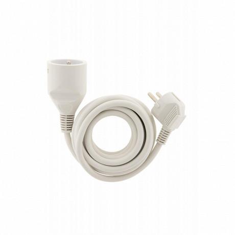 Prodelect prolongateur éléctrique 5m blanc 3g 1.5mm