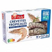 Gel Pêche crevettes entières crues asc 16 à 24 pièces 400g