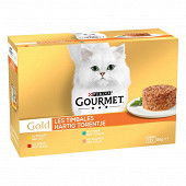 Gourmet gold les timbales 12x85g