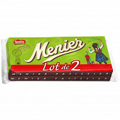 Menier Pâtissier tablette de chocolat noir 2x200g