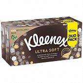 Kleenex boite mouchoirs ultra soft x2