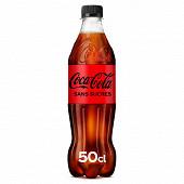 Coca-Cola zéro bouteille 50cl